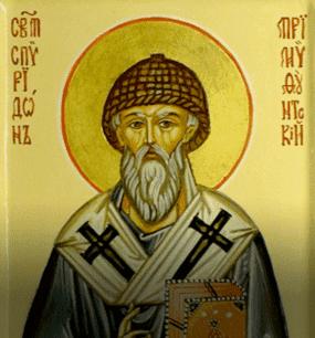 Святой<br>Спиридон Тримифунтский